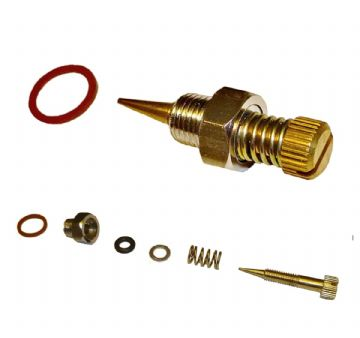 Carb Needle Mixture Screw Valve Kit, For Briggs and Stratton 7hp to 16hp Engines, Part No 99525s, 99525